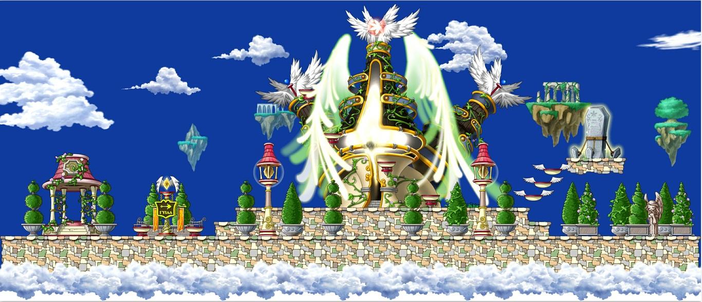 [贴图小组][04月]天空之城地图素材2份. - 冒险岛游戏