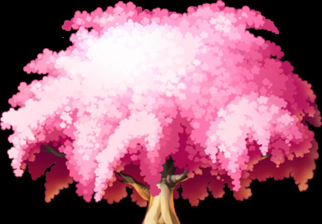 櫻花和風背景圖片