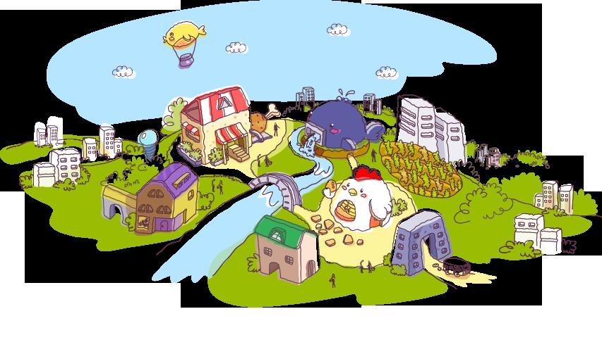 萌芽游戏论坛 69 彩虹岛 69 彩虹岛游戏贴图区 69 可爱手绘风景