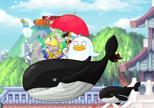 【深海巨鲸坐骑】 - 彩虹岛综合交流区 - 萌芽工作室