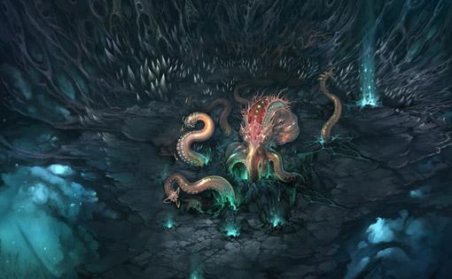 海底世界下篇场景boss原画大揭秘