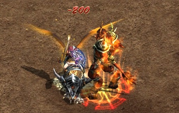 传奇世界道士骑战技能狂狮盾、幽灵击、兽神