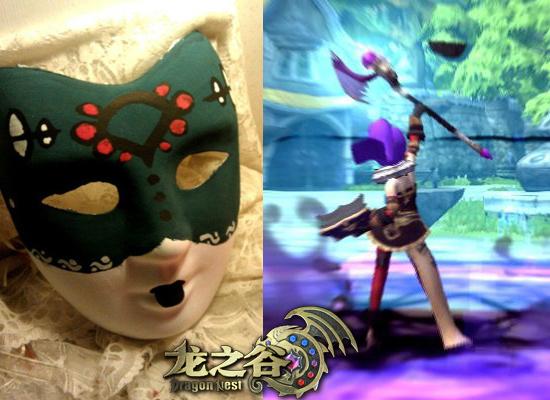 新春假面舞会!玩家diy手绘面具