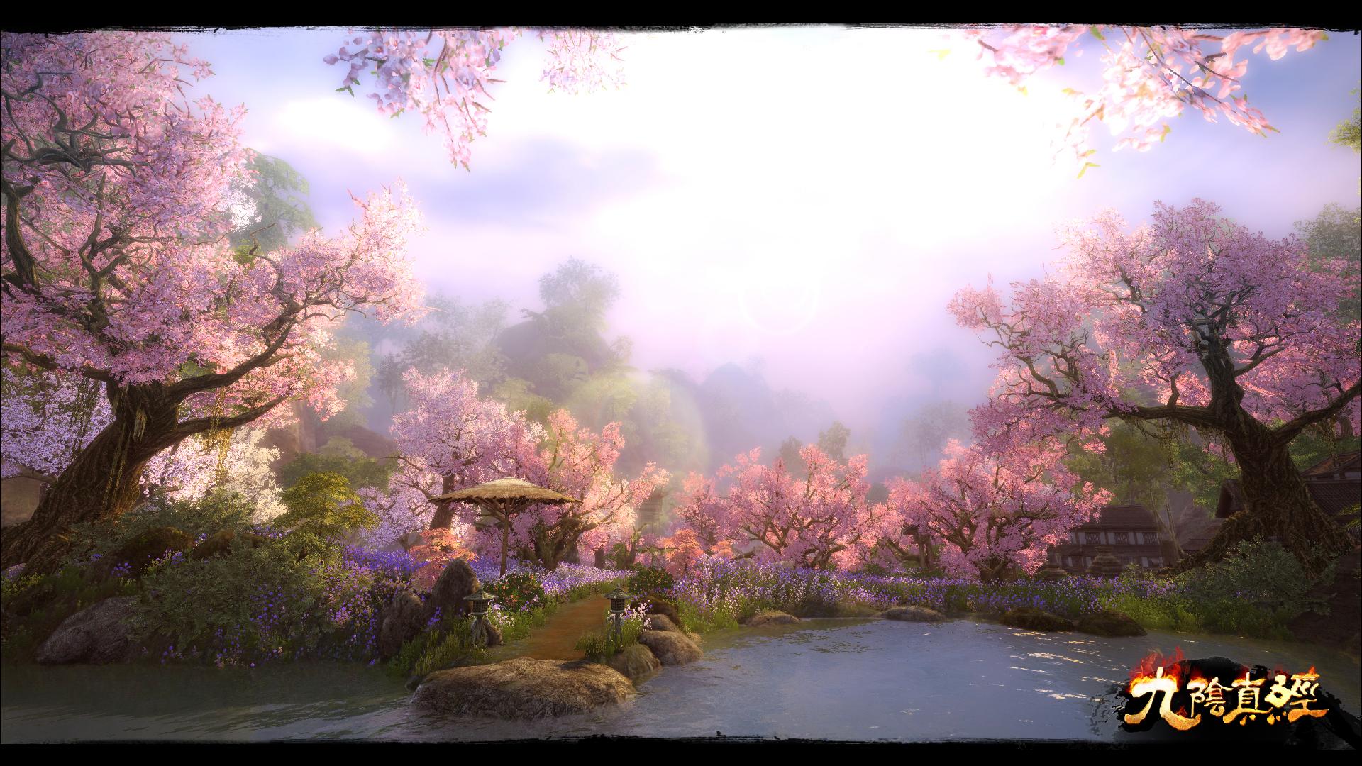 桃花岛风景
