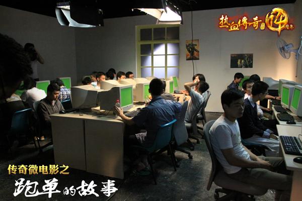 热血传奇:传奇十四周年庆 微电影场景搭建从无到有_歪歪丫游戏攻略;