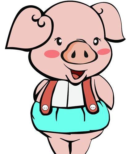 猪头饰手工制作图片