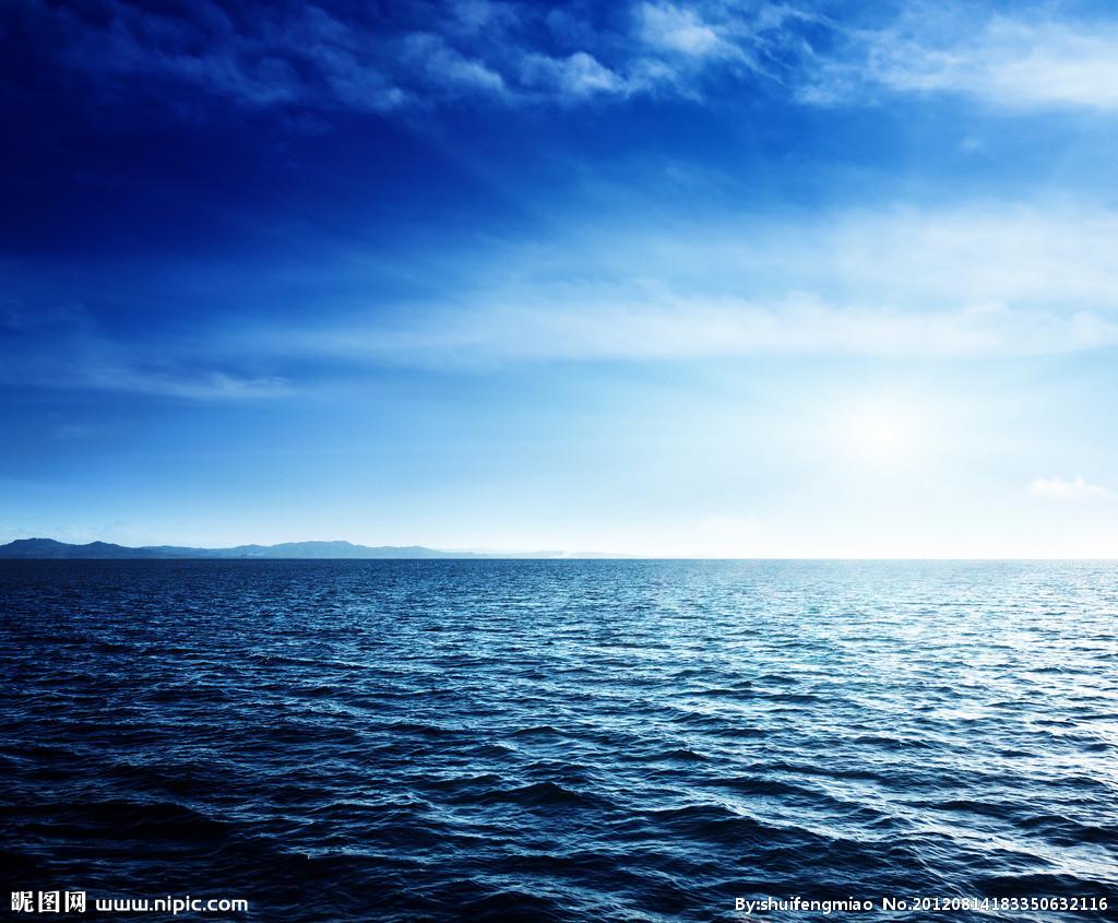 蓝天 大海 白云